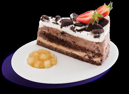 Chocolate Ice Cream Lasagne