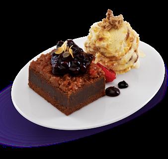 Peanut Butter 'N Chocolate Ice Cream Brownies