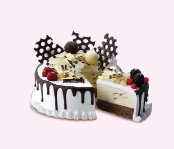 Small Round cake -SR 132 (Serves 12)