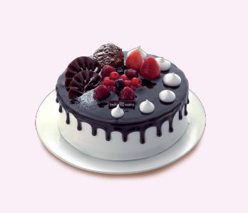 Medium Round cake  - SR 158 (Serves 20)